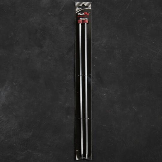 KnitPro Nova Metal 4.5 mm 35 cm Metal Örgü Şişi - 10218