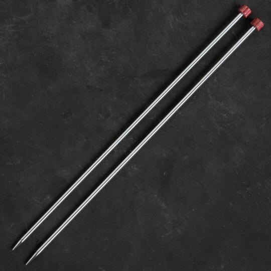KnitPro Nova Metal 5 mm 35 cm Metal Örgü Şişi - 10219