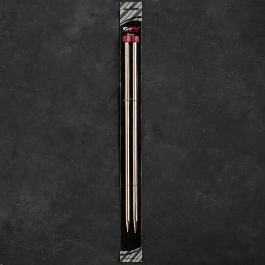 KnitPro Nova Metal 8 mm 35 cm Metal Örgü Şişi - 10224