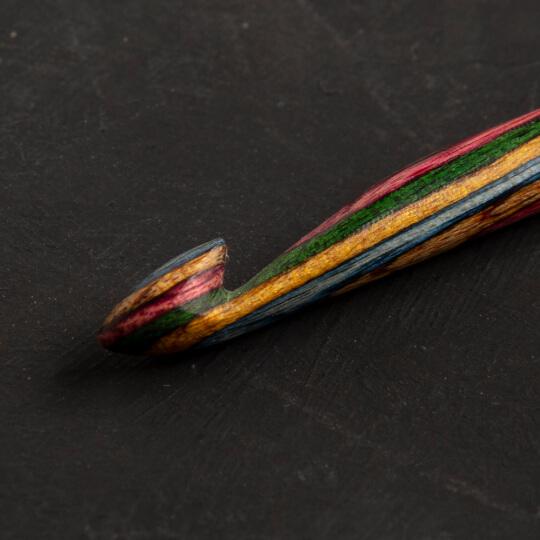 KnitPro Symfonie 15 cm Ahşap Çift Uçlu Tunus Tığı Seti - 20730