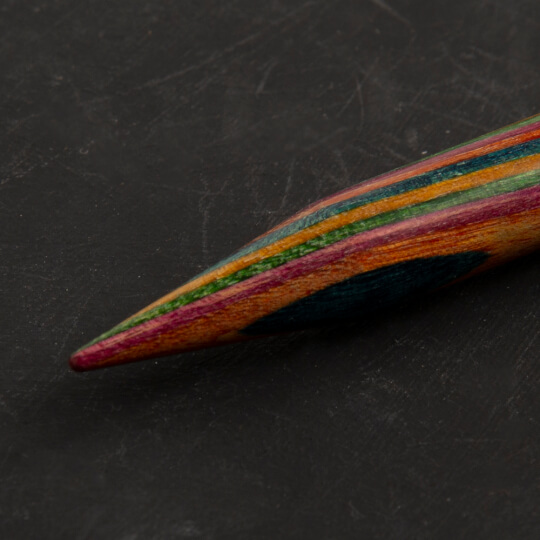 KnitPro Symfonie 9 mm 100 cm Ahşap Misinalı Şiş - 21360