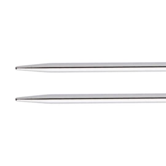 KnitPro Nova Metal 4 Mm 100 Cm Metal Mor Misinalı Şiş - 11352