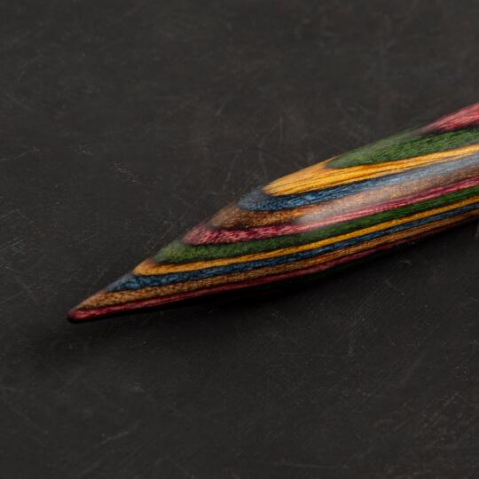 KnitPro Symfonie 12 mm 100 cm Ahşap Misinalı Şiş - 21362