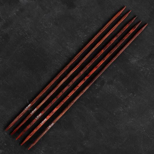 Knitpro Symfonie Cubics 3.5mm 20cm Kübik Çorap Şişi - 25111