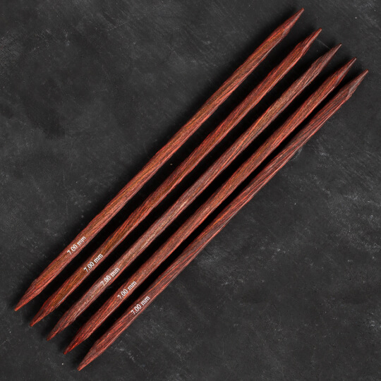 Knitpro Symfonie Cubics 7mm 20cm Kübik Çorap Şişi - 25118
