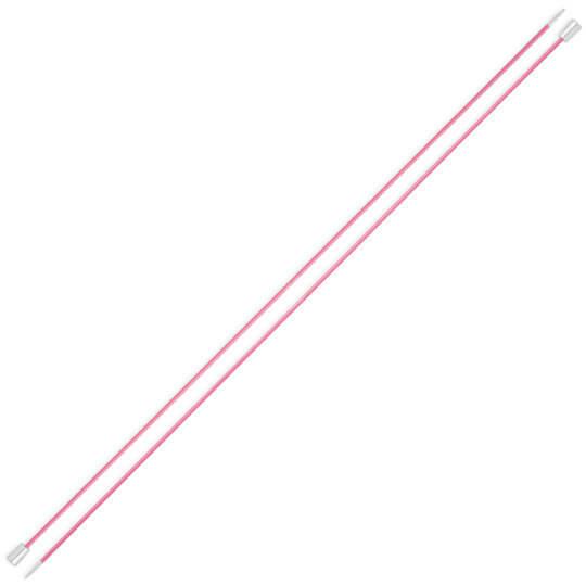 Knitpro Zing 2 mm 35 cm Pembe Metal Örgü Şişi - 47291