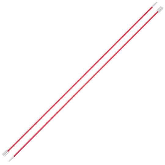 Knitpro Zing 2,5 mm 35 cm Kırmızı Metal Örgü Şişi - 47293
