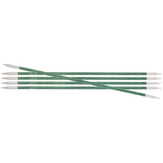 KnitPro Royale 3.5 mm 20 cm Deniz Mavisi Ahşap Çorap Şişi - 29035