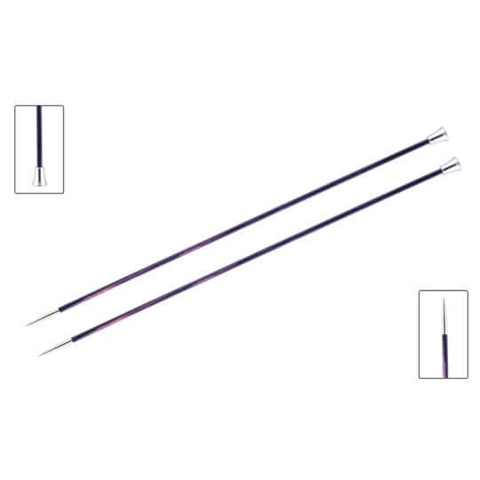 KnitPro Royale 3 mm 35 cm Mor Ahşap Örgü Şişi - 29211