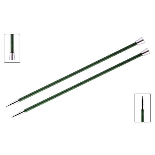 KnitPro Royale 5.5 mm 35 cm Yeşil Ahşap Örgü Şişi - 29218