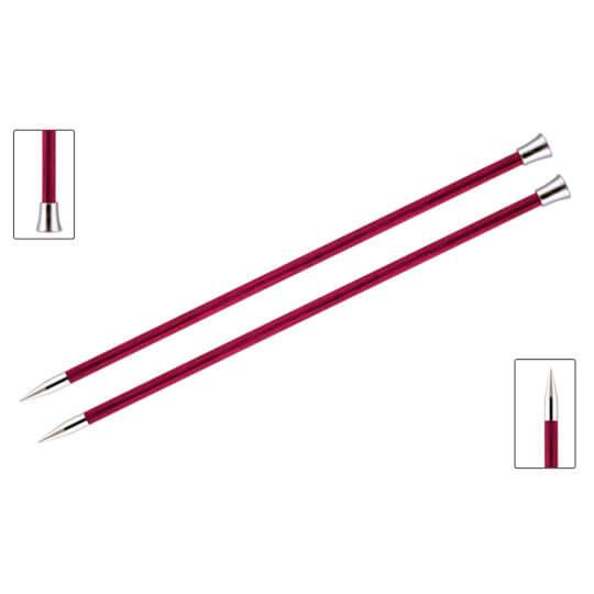 KnitPro Royale 6 mm 35 cm Pembe Ahşap Örgü Şişi - 29219