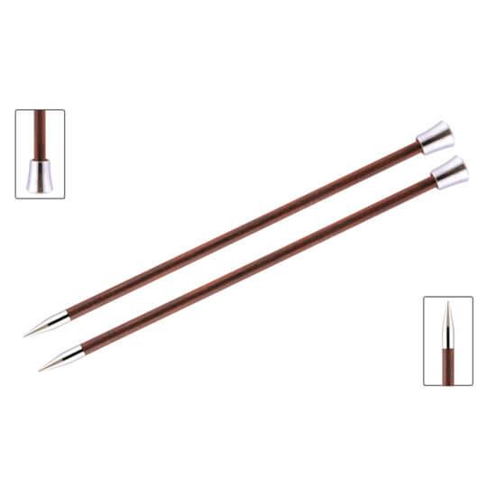 KnitPro Royale 7 mm 35 cm Gül Kırmızı Ahşap Örgü Şişi - 29221