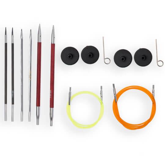 KnitPro Değiştirilebilir Comby Sampler Set II - 20634