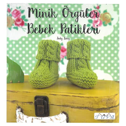 Tuva Minik Örgüler Bebek Patikleri Kitabı - 6240