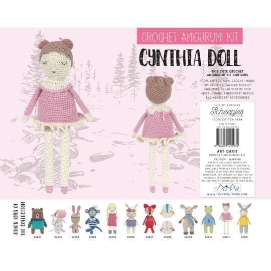 Tuva Balerin Kız Amigurumi Kiti - CAK11