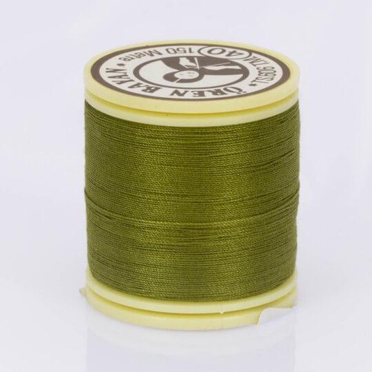Örenbayan No: 40 Zeytin Yeşili Polyester Dikiş İpliği - 725 - 0254