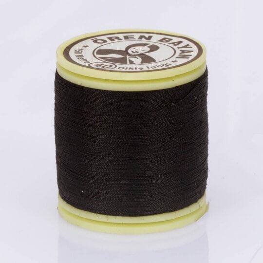 Örenbayan No: 40 Koyu Kahverengi Polyester Dikiş İpliği - 339 - 0254