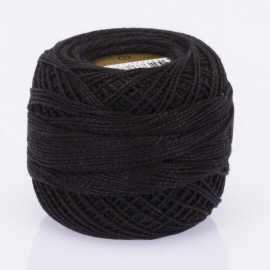 Örenbayan Koton Perle No: 8 Siyah Nakış İpliği - Siyah - 0351