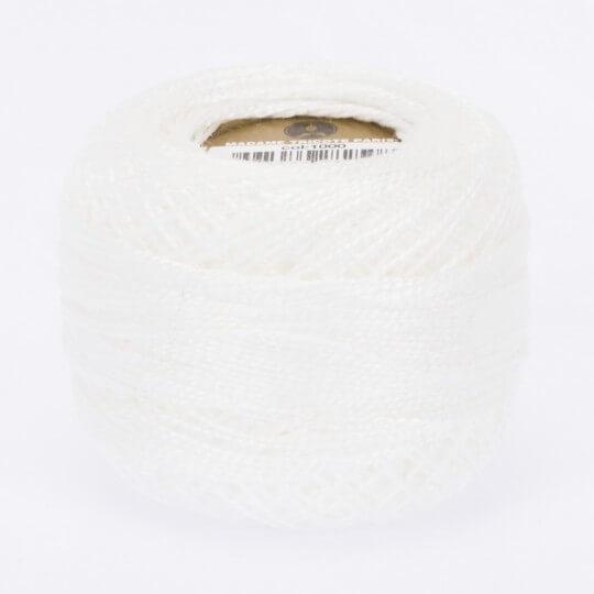 Örenbayan Koton Perle No: 8 Beyaz Nakış İpliği - 1000 - 0351