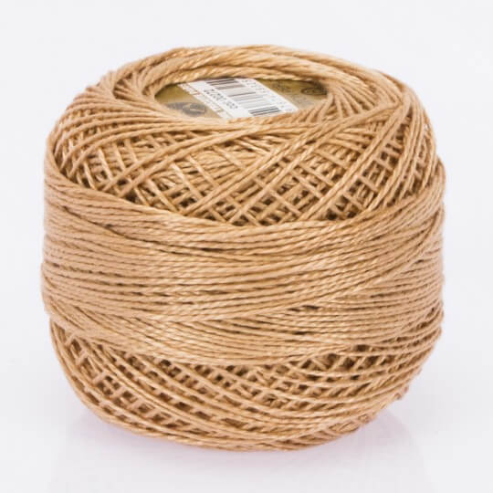 Örenbayan Koton Perle No: 8 Kum Kahverengi Nakış İpliği - 272 - 0351