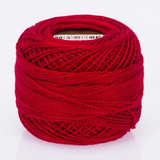 Örenbayan Koton Perle No:8 Koyu Kırmızı - 94 - 0351