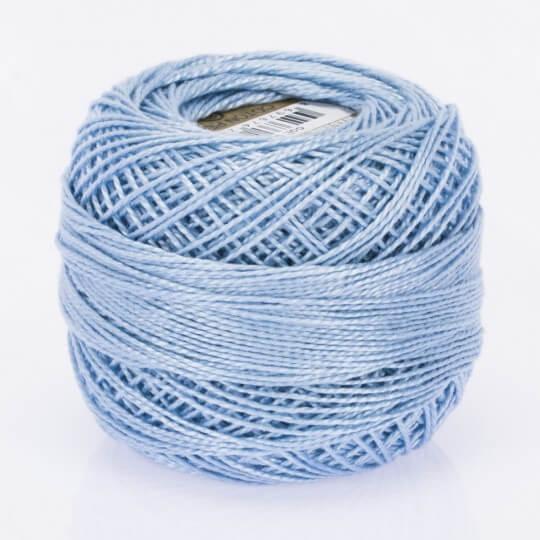 Örenbayan Koton Perle No: 8 Açık Mavi Nakış İpliği - 550 - 0351