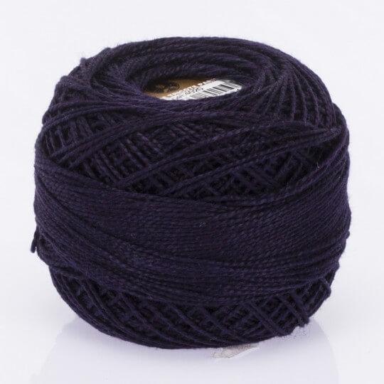 Örenbayan Koton Perle No: 8 Koyu Mavi Nakış İpliği - 4020 - 0351