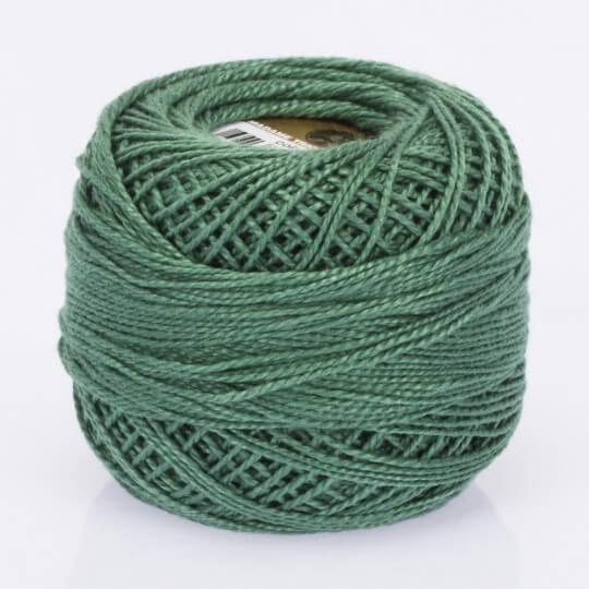 Örenbayan Koton Perle No: 8 Koyu Yeşil Nakış İpliği - 4015 - 0351