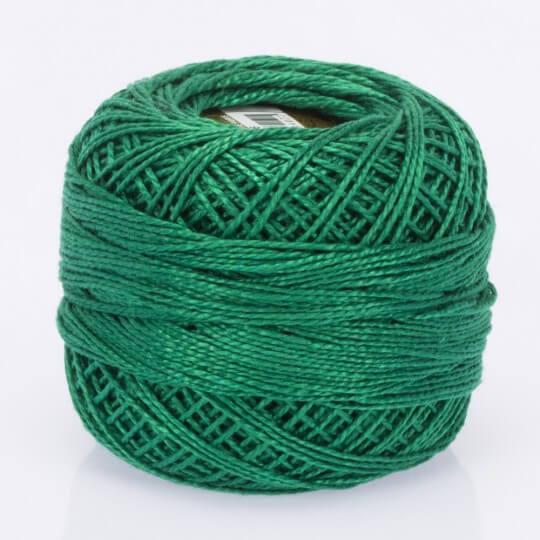 Örenbayan Koton Perle No: 8 Mat Yeşil Nakış İpliği - 986 - 0351