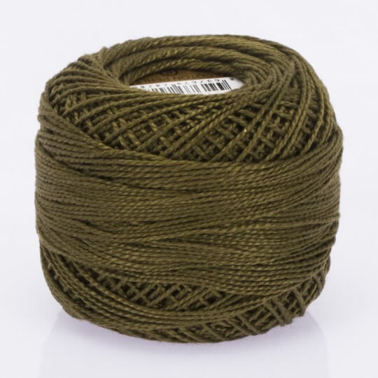 Örenbayan Koton Perle No: 8 Kahverengi Nakış İpliği - 4012 - 0351