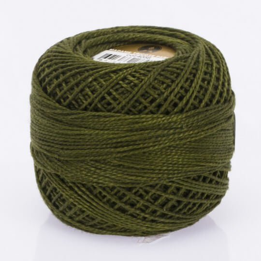 Örenbayan Koton Perle No:8 Koyu Yeşil - 4058 - 0351