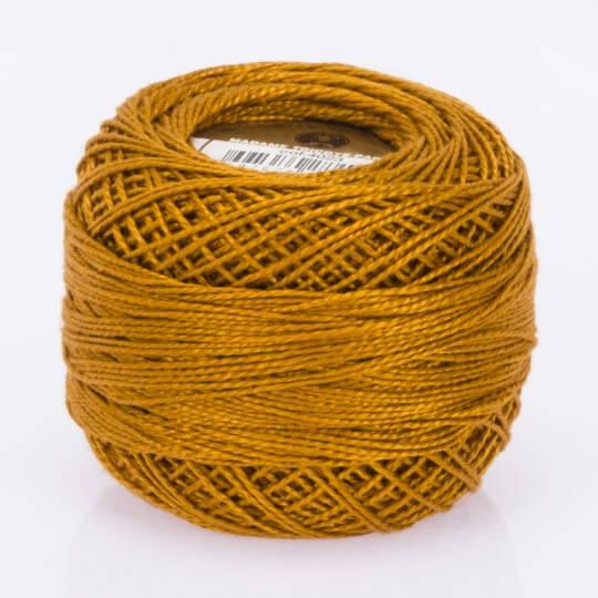 Örenbayan Koton Perle No: 8 Safran Rengi Nakış İpliği - 4023 -0351