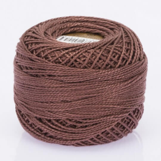 Örenbayan Koton Perle No: 8 Kahverengi Nakış İpliği - 4021 - 0351