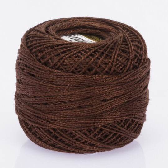 Örenbayan Koton Perle No: 8 Kahverengi Nakış İpliği - 478 - 0351
