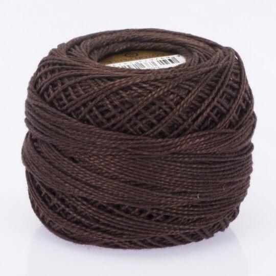 Örenbayan Koton Perle No:8 Kahverengi El Nakış İpliği- 4076 - 0351
