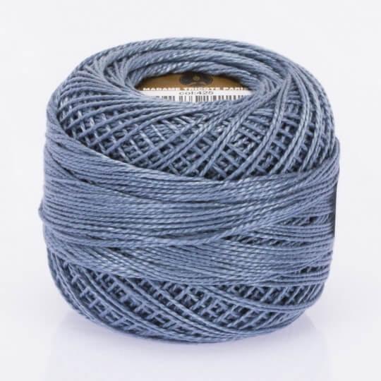 Örenbayan Koton Perle No: 8 Gökyüzü Mavisi Nakış İpliği - 425 - 0351