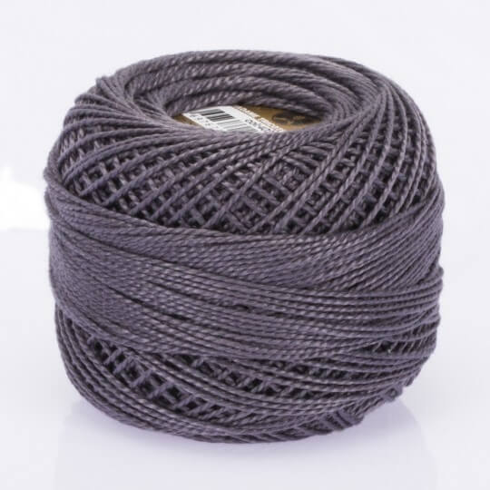 Örenbayan Koton Perle No: 8 Gri Nakış İpliği - 4027 - 0351