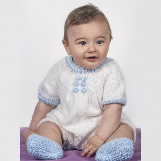 Kartopu Baby Soft Mavi Bebek Yünü - K515