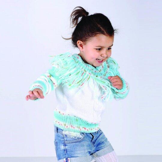 Kartopu Baby Star Ebruli Bebek Yünü - H878