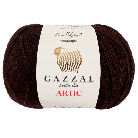 Gazzal Artic Kahverengi El Örgü İpi - 16
