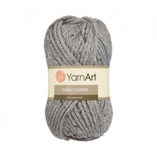 YarnArt Tweed Country Gri El Örgü İpi - 330