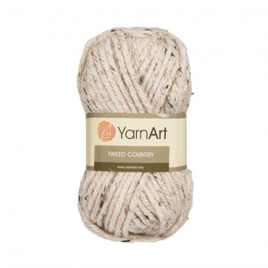 YarnArt Tweed Country Bej El Örgü İpi - 331
