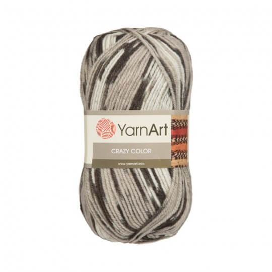 YarnArt Crazy Color Ebruli El Örgü İpi - 137