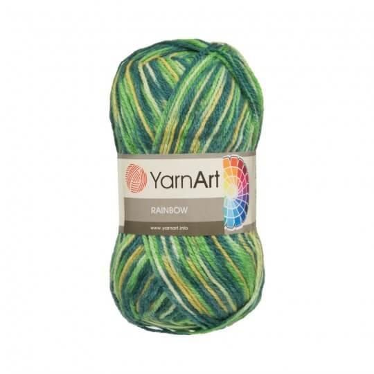 YarnArt Rainbow 5'li Paket Ebruli El Örgü İpi - 0053
