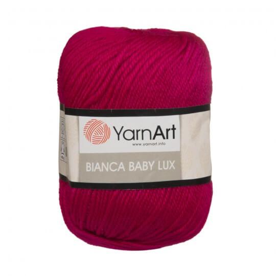 YarnArt Bianca Baby Lux Fuşya Bebek Yünü - 365