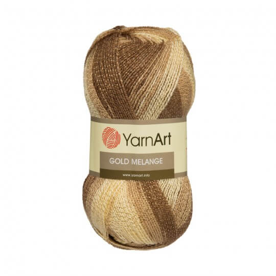 YarnArt Gold Melange Ebruli El Örgü İpi - 9501