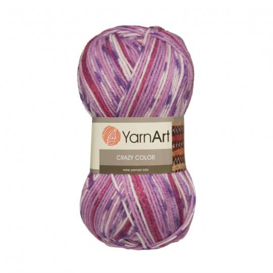 YarnArt Crazy Color Ebruli El Örgü İpi - 146