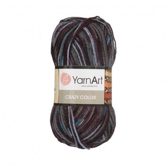 YarnArt Crazy Color Ebruli El Örgü İpi - 154