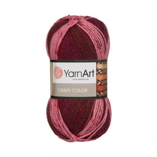 YarnArt Crazy Color Ebruli El Örgü İpi - 162