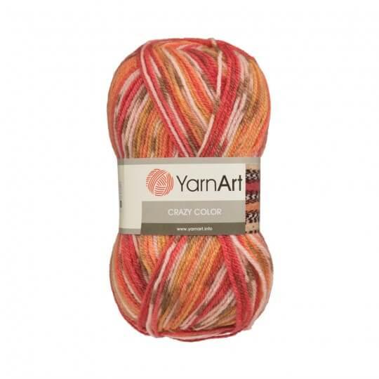 YarnArt Crazy Color Ebruli El Örgü İpi - 100